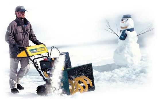 Уборка снега на участках в  коттеджных  поселках Истринского района