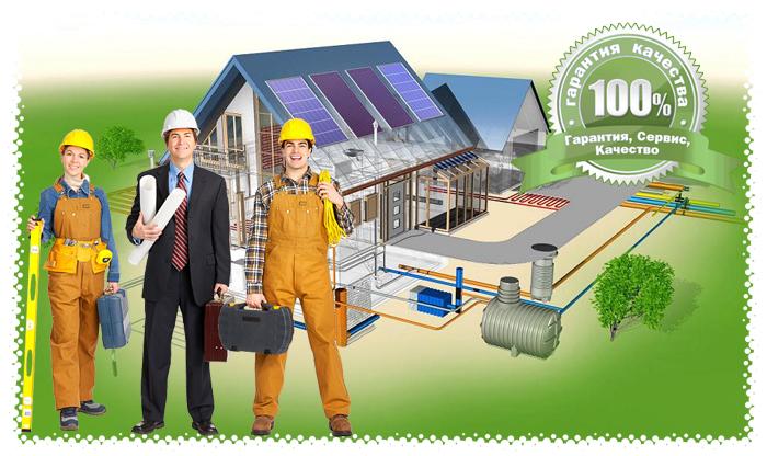 Инженерные коммуникации - септики - водоснабжение - водообеспечение - канализация - электрика в Истре и Истринском районе